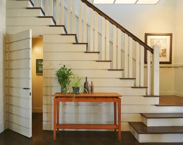 Como dise ar un cuarto de ba o debajo de las escaleras for Biblioteca debajo de la escalera