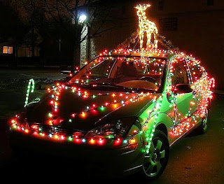 Christmas Light Decoration Ideas Style for Car