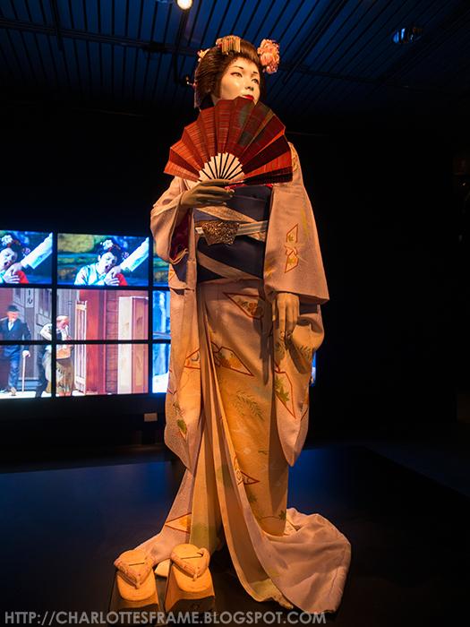Geisha Rijksmuseum Volkenkunde Leiden