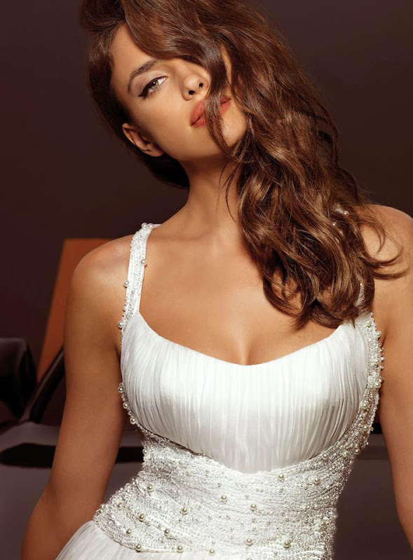 Irina Shayk for Alessandro Angelozzi Couture 2013