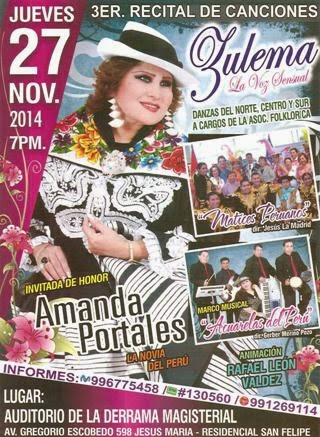 recital de musica peruana