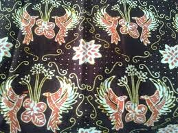 Batik production Kediri, East Java.