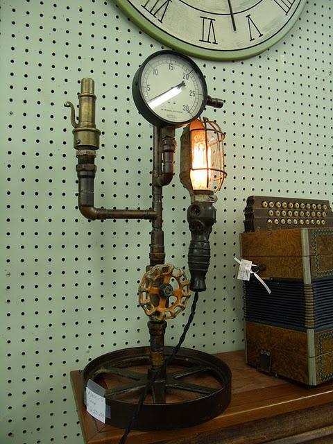 Pollyanna reinvents steampunk victorian decor for Victorian steampunk decor