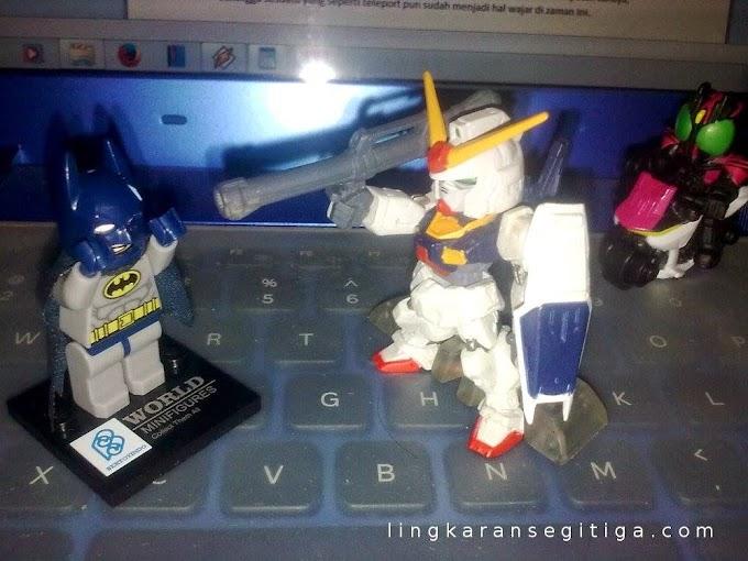 Invasi Gundam di Kota Batman
