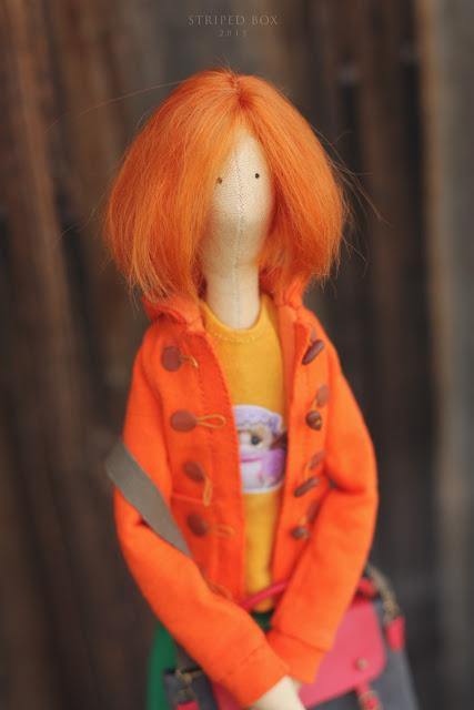 Портретная кукла по фото