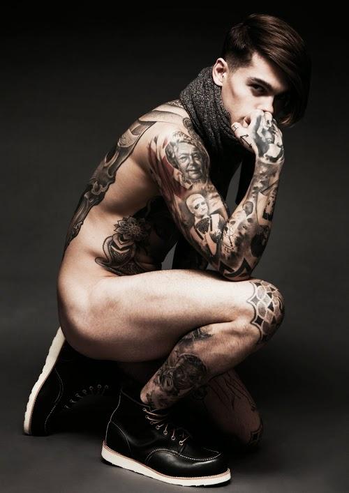 Stephen James Front Tattoo