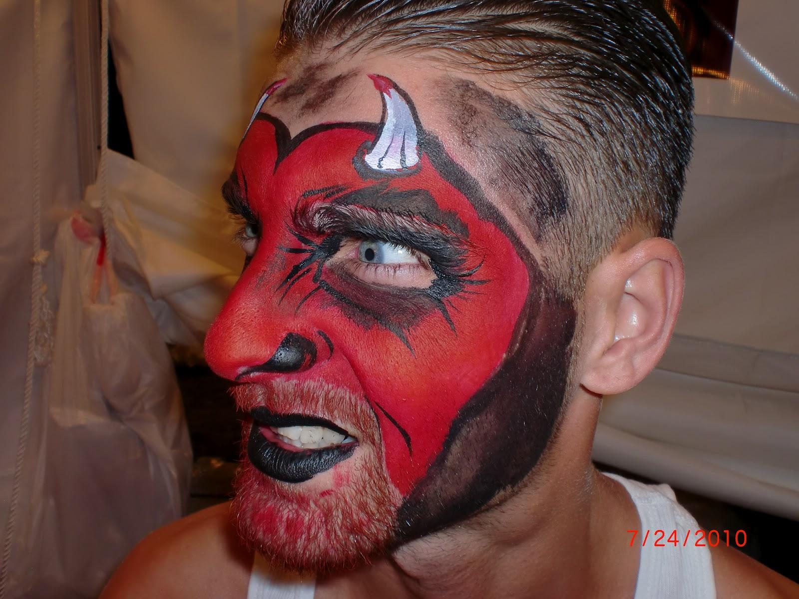 Uncategorized Devil Face Painting face painting illusions and balloon art llc valentine devil boys entertainment