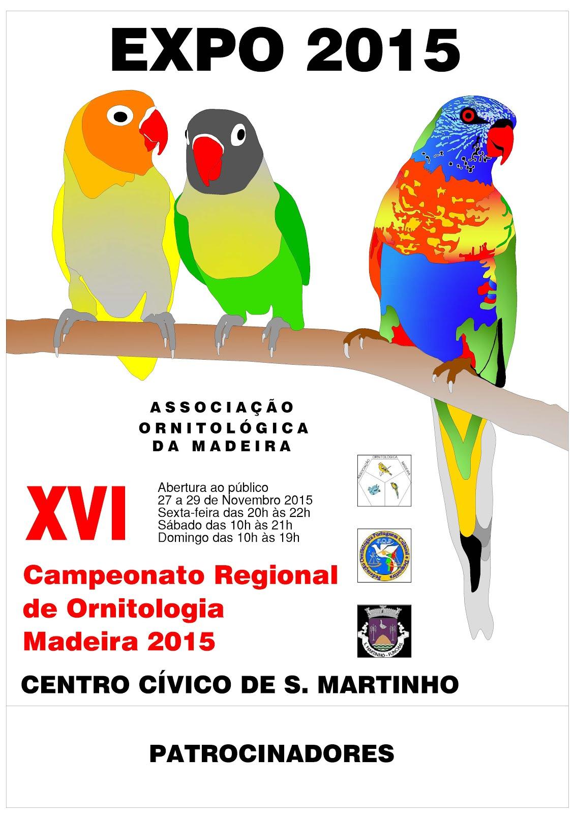 Campeonato Regional de Ornitologia Madeira 2015