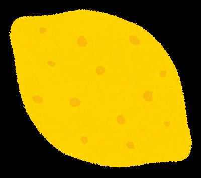 fruit_lemon 唾をかければ治るは間違い①