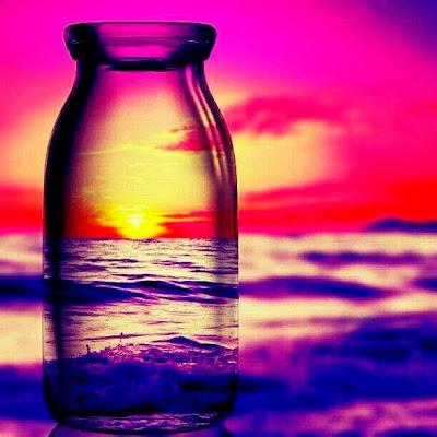 Teknik Fotografi - Refleksi Botol Kaca