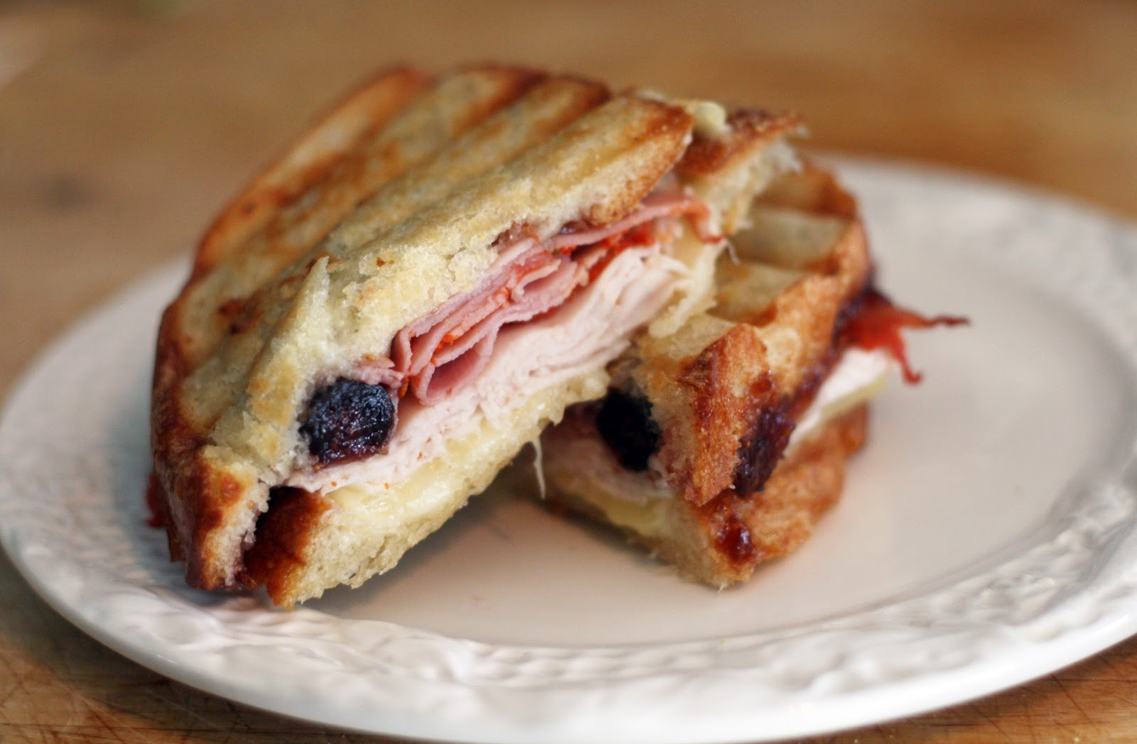 Recipes by Rachel Rappaport: Turkey, Fig & Capicola Panini