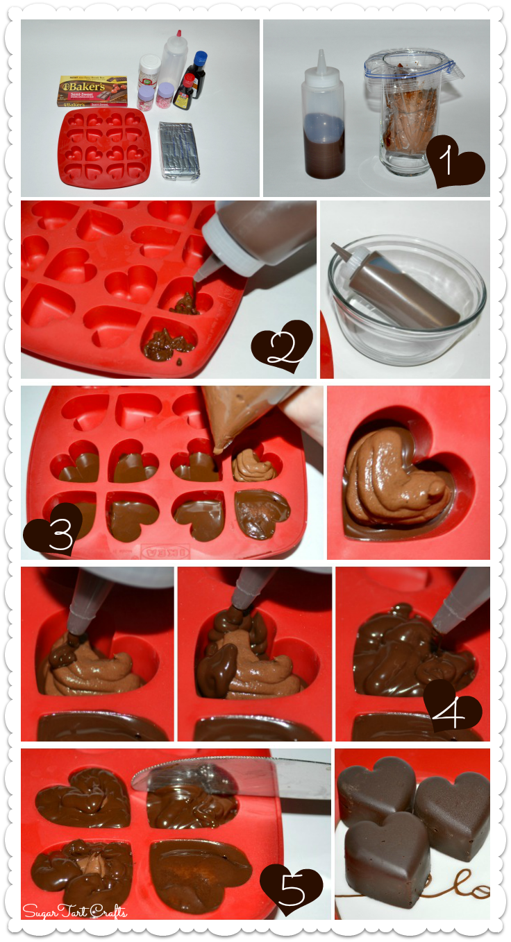 Heart-shaped Chocolate Truffles Tutorial