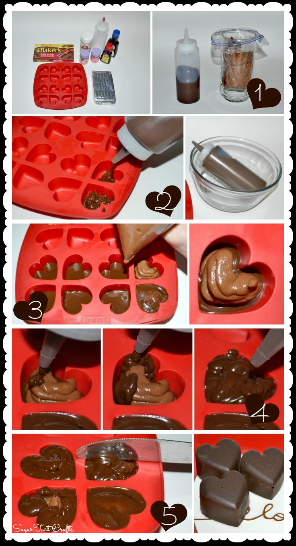 Heart-shaped Chocolate Truffles Tutorial