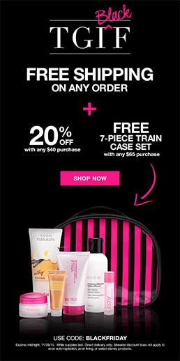 Avon Black Friday Sale 2015