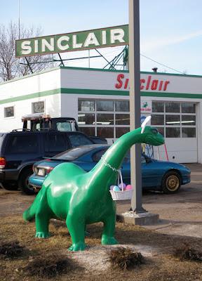 The Sinclair Easter Dinosaur