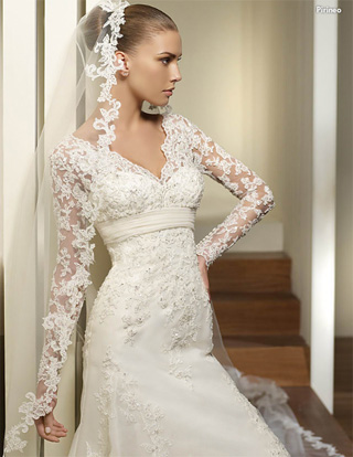 Wedding Dresses with Sleeves Labels 2011 2012 Bridal Wedding Dresses