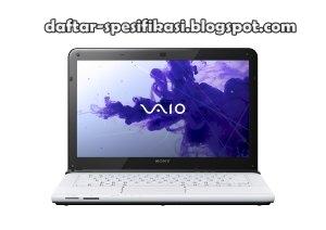 Spesifikasi Laptop Sony Vaio E Series SVE14135CXW