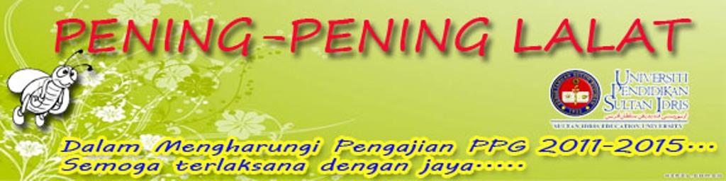 PENING-PENING LALAT
