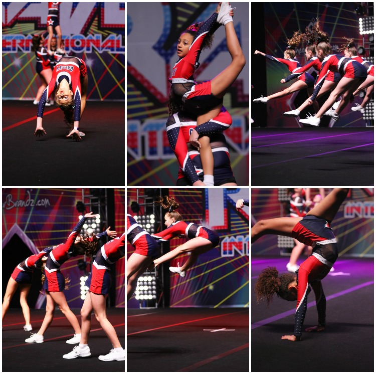 Cheerleading develops flexibility, strength and body confidence.