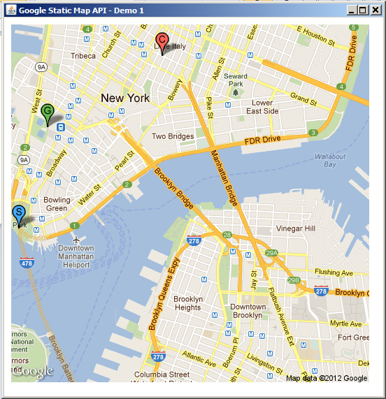My Data Visualization Projects Google Maps In Java Part 1