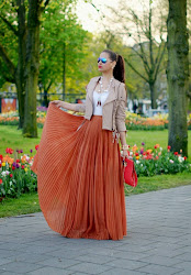 Burnt Orange Maxi