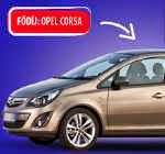 Opel Corsa nyeremény