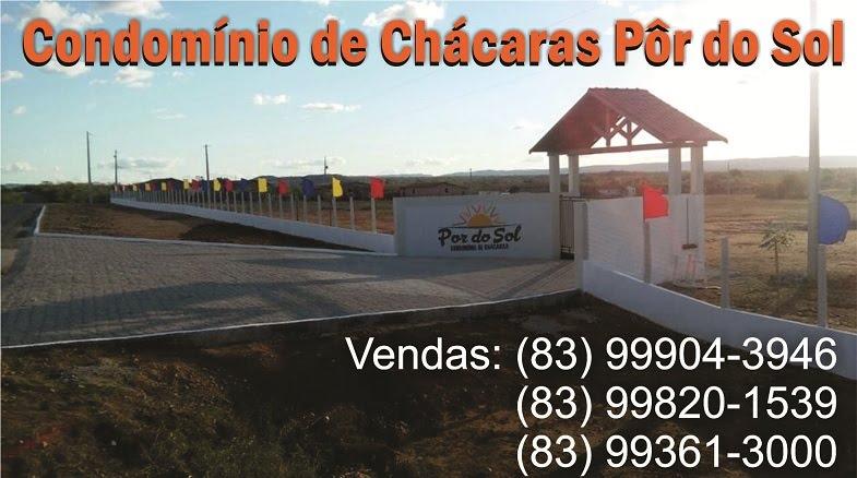 Condomínio de Chácaras Pôr do Sol - Reserve já a sua!