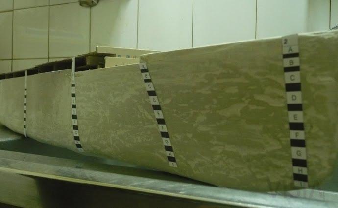 Marcación de cubiertas del casco