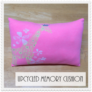 Upcycled Memory Cushion