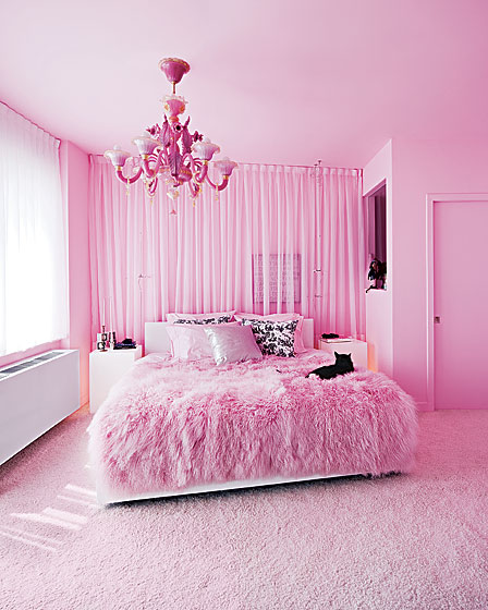 creative influences pink bedroom