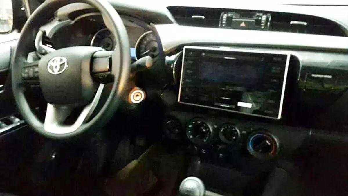 Nova Toyota Hilux 2016 - interior