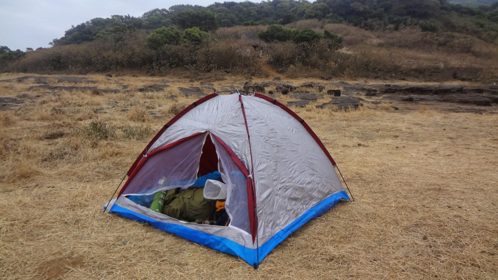 Vrangers Harishchandra Gad camping