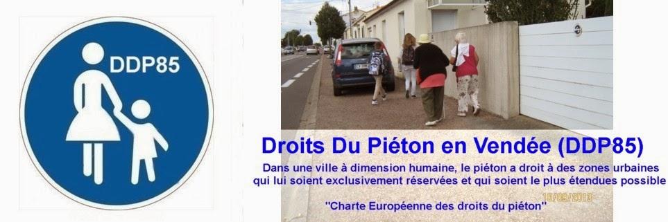 DDP85  droits piéton 85 droit-piéton-trottoir