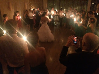 Gyertyafény keringő esküvőre