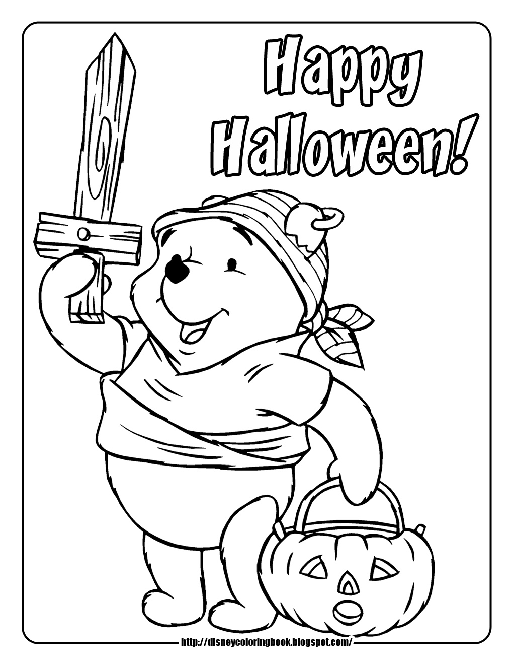 Disney Halloween Coloring Pages Pdf : Learn to coloring september