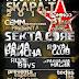 Festival Skapa-T en Foro Norte Domingo 31 de Agosto 2014