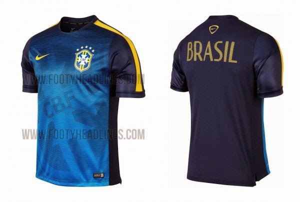 Um Besteirol Brasileiro  A Nova Camisa Pré Jogo da Seleção Brasileira 846a73c78b995
