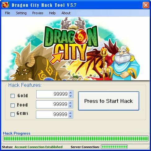 Dragon City Hack Tool Free Unlimited Gems Gold & Food