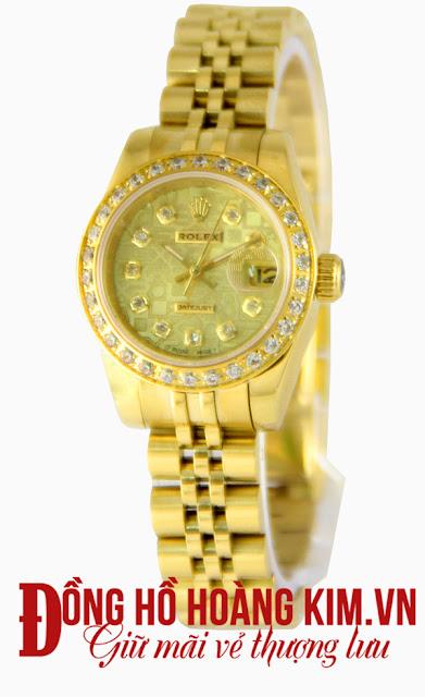 Đồng hồ đeo tay nữ đính đá Rolex