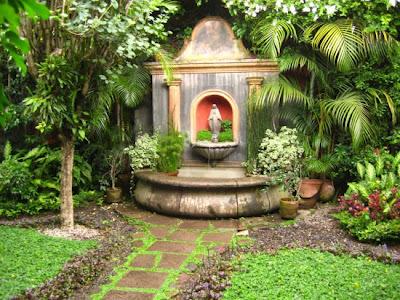 Decoraciones y modernidades modernos patios o jardines - Decoracion patios y jardines ...