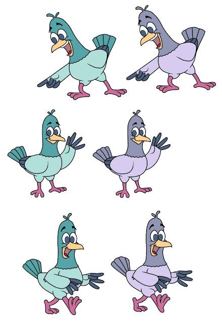 Caricatura paloma