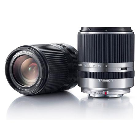 Tamron 14-150mm f/3.5-5.8 DI-III for Micro Four Thirds silver & black