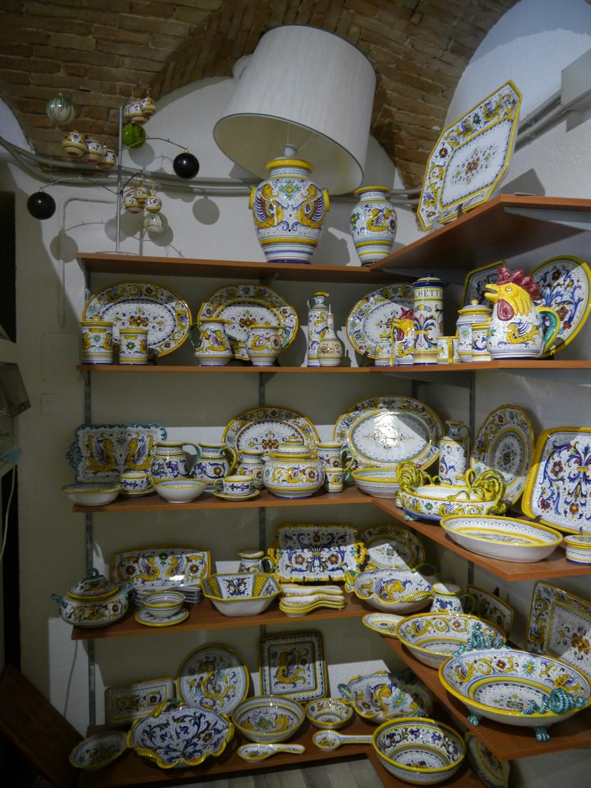 Typical Deruta Style & Cucina Divina: Majolica