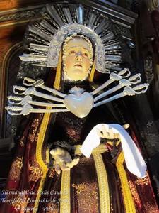 Viernes de Dolores - Nuestra Señora de los Dolores de la Vera Cruz- Templo Santo Domingo