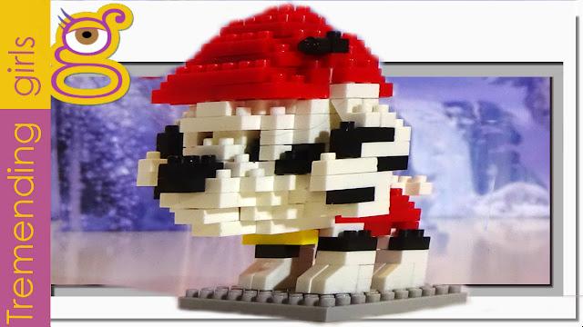 Mini Blocks Mini Bloques Micro Blocks - ¿sabes quién es? - Se construye solo !!!