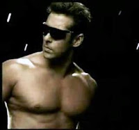 Salman Khan with Six Packs