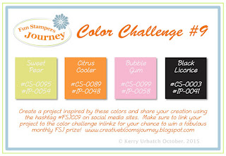 October 2015 Color Challenge