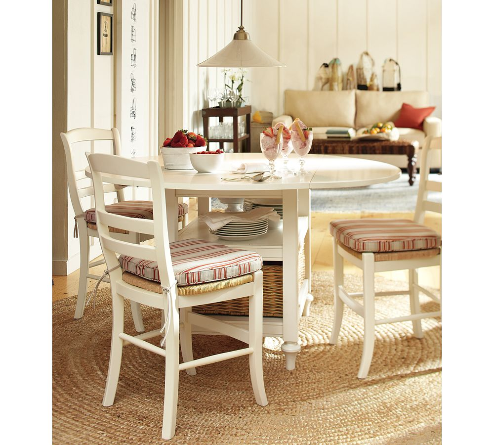 Shayne kitchen table designed by potterybarn for Barn style kitchen table