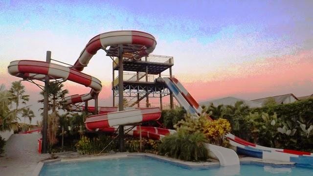 Balong Water Park adalah Wisata Keluarga eksotis di Yogyakarta