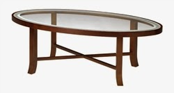Illusion Series Coffee Table by Mayline